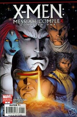 X-MEN MESSIAH COMPLEX #1 VARIANT COVER 1ST PRINT NM (2007)
