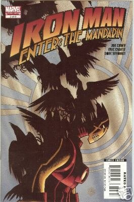IRON MAN ENTER THE MANDARIN #3 NM (2007)