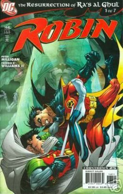 ROBIN #168 NM (2007) RA'S AL GHUL PART 1