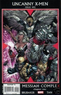 UNCANNY X-MEN #492 NM (2007)