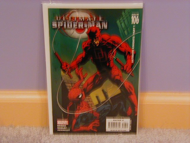 ULTIMATE SPIDER-MAN #106 NM