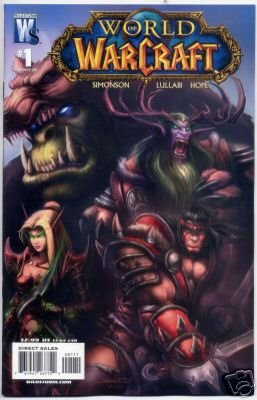 "WORLD OF WARCRAFT #1 NM (2007) COVER ""B"""