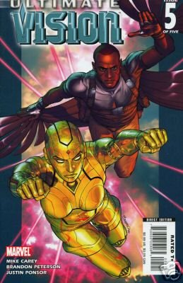 ULTIMATE VISION #5 NM (2007)