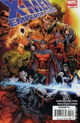 X-MEN EMPEROR VULCAN #3 NM (2007)