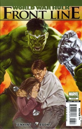 WORLD WAR HULK FRONTLINE #6 NM (2008)