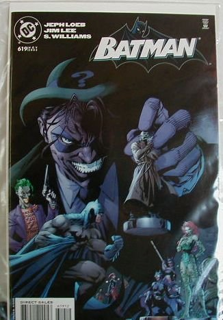 BATMAN #619 NM RIDDLER COVER