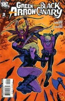GREEN ARROW AND BLACK CANARY #2 NM (2008)