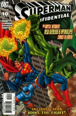 SUPERMAN CONFIDENTIAL #10 NM (2008)