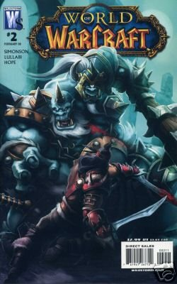 WORLD OF WARCRAFT #2 NM (2008)  COVER A