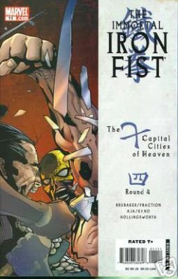 IMMORTAL IRON FIST #11 NM (2008)