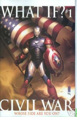 WHAT IF CIVIL WAR ONE-SHOT NM (2007) CIVIL WAR COVER