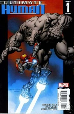 ULTIMATE HUMAN #1 NM (2008)ULTIMATE IRON MAN VS ULTIMATE HULK