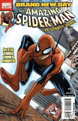 AMAZING SPIDER-MAN #546 NM (2008) BRAND NEW DAY
