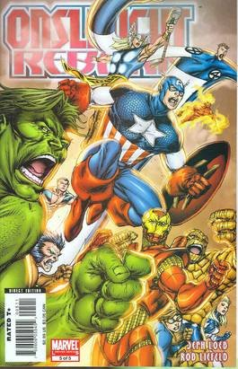 ONSLAUGHT REBORN #5 NM (2008)