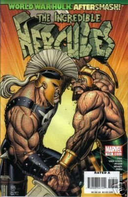 INCREDIBLE HERCULES #113 NM(2008) WORLD WAR HULK AFTERSMASH