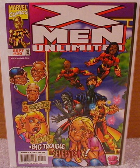 X-MEN UNLIMITED #20 VF OR BETTER
