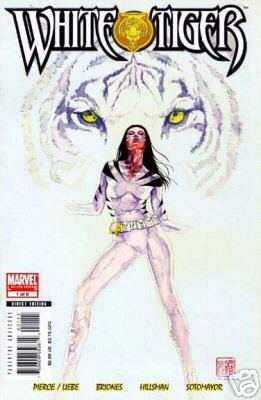 WHITE TIGER #1 NM