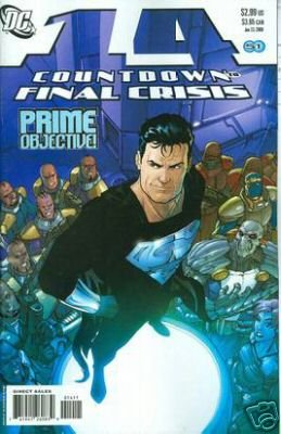COUNTDOWN TO FINAL CRISIS #14 NM (2008)
