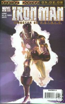 IRON MAN #25 NM (2008)