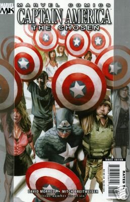 CAPTAIN AMERICA THE CHOSEN #6 NM (2008)