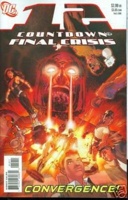 COUNTDOWN TO FINAL CRISIS #12 NM (2008)