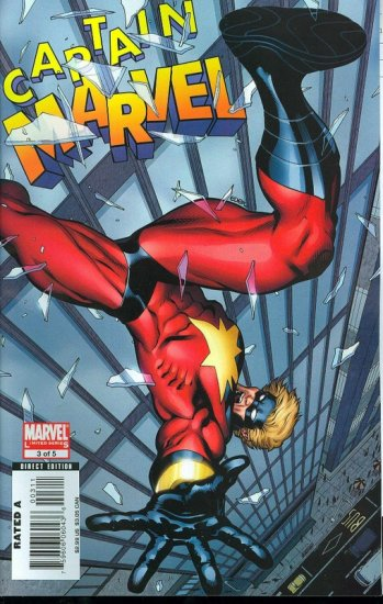 CAPTAIN MARVEL #3 NM (2008)
