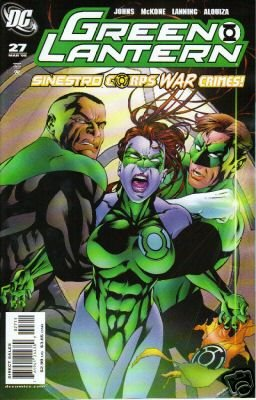 GREEN LANTERN #27 SINESTRO CORPS WAR CRIMES  (2008)