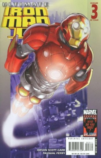 ULTIMATE IRON MAN II #3 NM (2008)