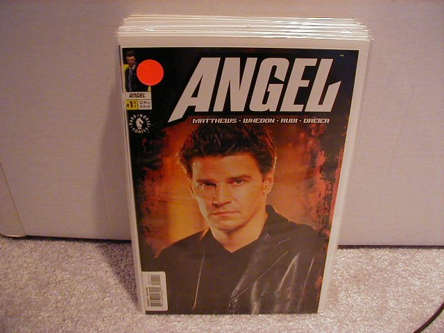ANGEL-MINI-#1 OF 4 VF OR BETTER  PHOTO COVER