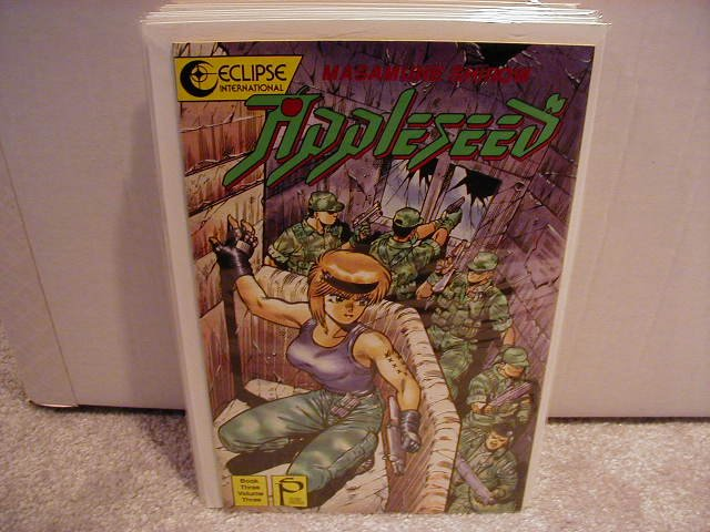 APPLESEED BOOK THREE #3  VF OR BETTER