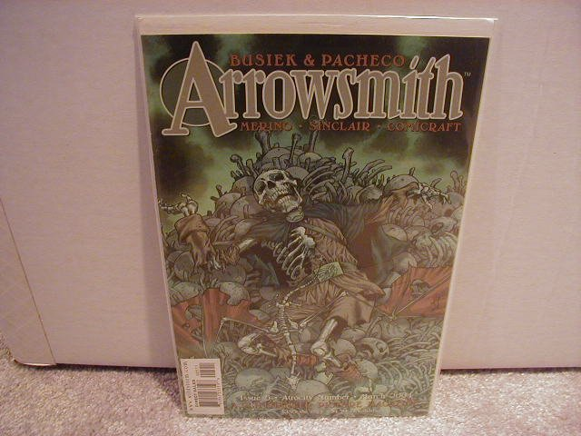 ARROWSMITH  #5 VF OR BETTER