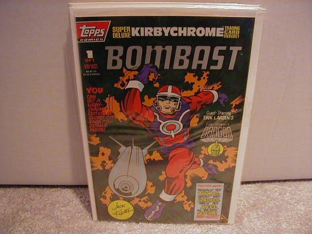 BOMBAST #1  VF OR BETTER