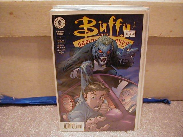 BUFFY THE VAMPIRE SLAYER #15 VF OR BETTER