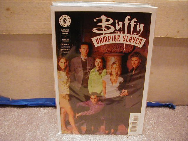 BUFFY THE VAMPIRE SLAYER #13 PHOTO COVER VF OR BETTER