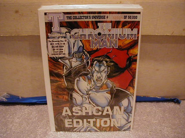 CHROMIUM MAN #1 VF OR BETTER