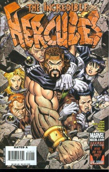 INCREDIBLE HERCULES #114 NM(2008)