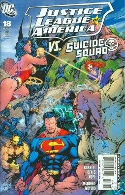 JUSTICE LEAGUE OF AMERICA #18  NM(2008)  VS. SUICIDE SQUAD