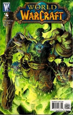 WORLD OF WARCRAFT #4 COVER B-LEE ART NM (2008)