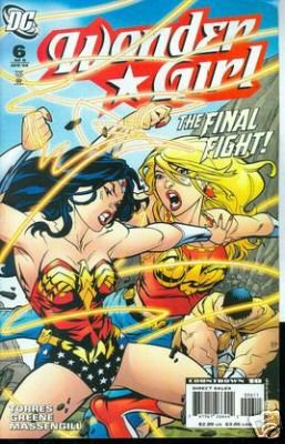 WONDER GIRL #6 NM (2008)