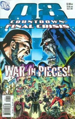 COUNTDOWN TO FINAL CRISIS #8 NM (2008)