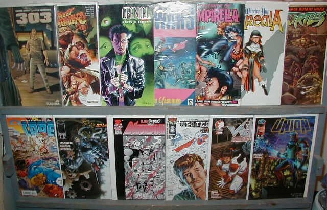INDEPENDENT TITLES WHOLESALE 25 LOT VF OR BETTER **FREE SHIPPING**