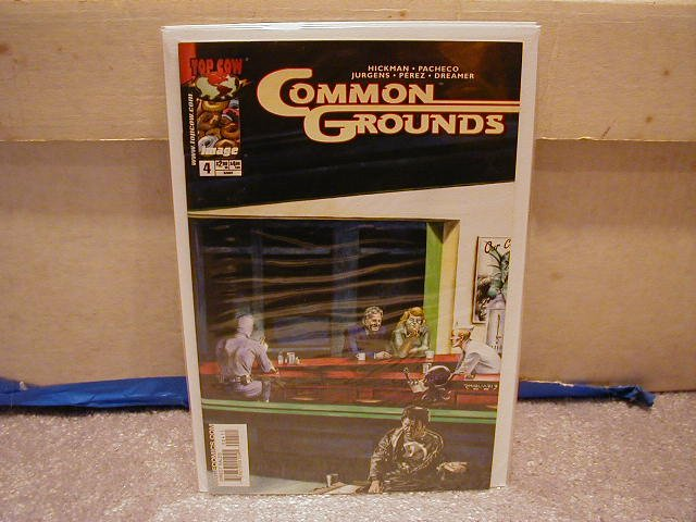 COMMON GROUNDS #4 VF/NM
