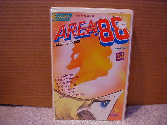 AREA 88 #24 VF OR BETTER