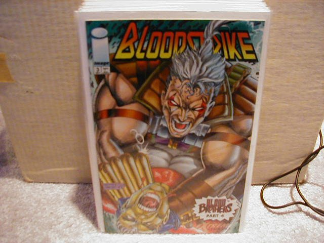 BLOODSTRIKE #3 VF OR BETTER