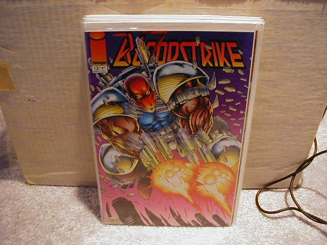 BLOODSTRIKE #13 VF OR BETTER