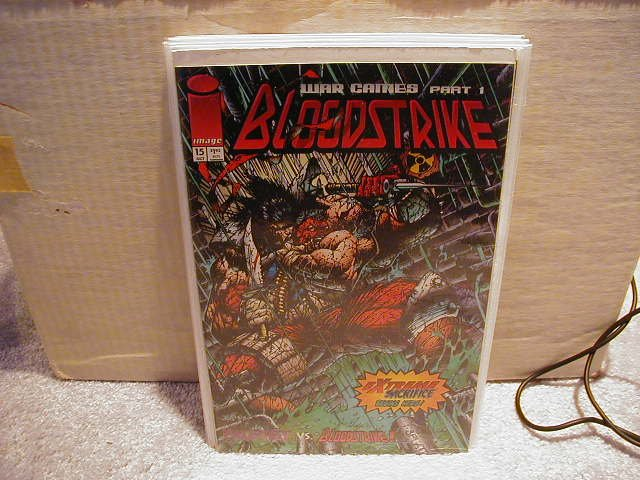 BLOODSTRIKE #15 VF OR BETTER