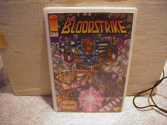 BLOODSTRIKE #17 VF OR BETTER