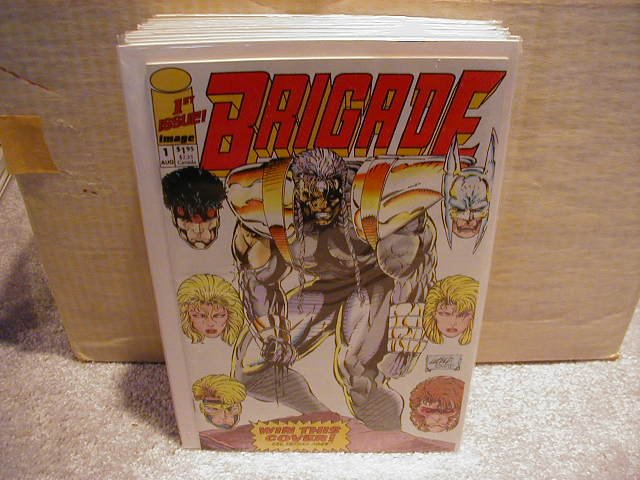 BRIGADE #1( MINI SERIES 1992) VF OR BETTER
