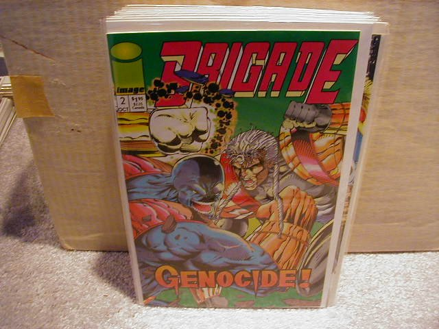 BRIGADE #2( MINI SERIES 1992) VF OR BETTER