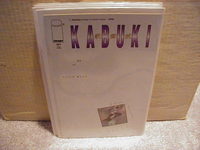 KABUKI #4 VF OR BETTER